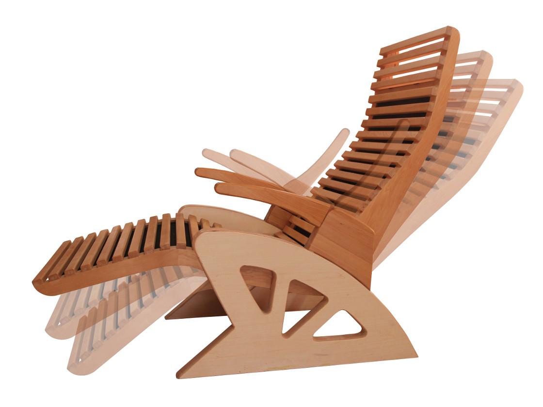 Chaise sauna